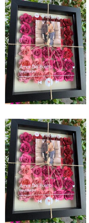 Ombré Pink Flower shadow box frame 🌸 for Sale in Gardena, CA