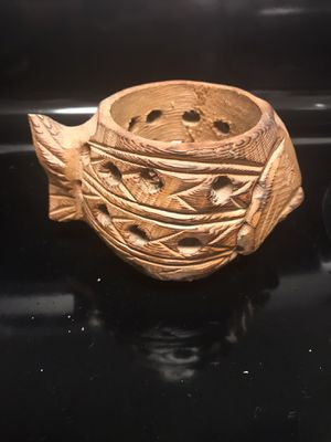 Vintage Wooden Fish Candle Holder for Sale in La Mesa, CA