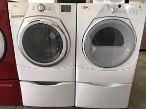 Whirlpool duet set 90 day warranty for Sale in Bosque Farms, NM