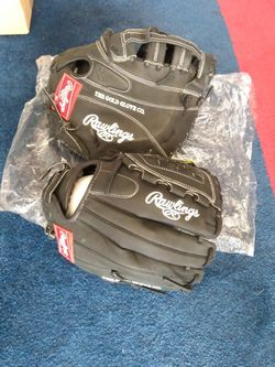 2 - Rawlings Heart Of The Hide Fastpitch Softball Gloves First Base Mitt and Fielder for Sale in Laguna Hills,  CA