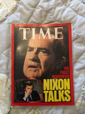 TIME MAGAZINE ~ May 9, 1977 NIXON for Sale in Westwood, NJ