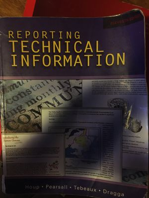 Reporting Technical Information for Sale in Klamath Falls, OR