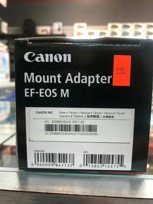 Canon Mount Adapter EF- EOS M for Sale in Fort Lauderdale, FL