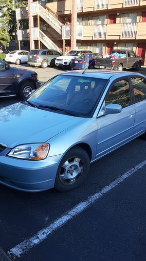 Honda civic hybrid great running car very reliable remote alarm CD ac etc only 1390 38 miles per gallon for Sale in Seattle, WA