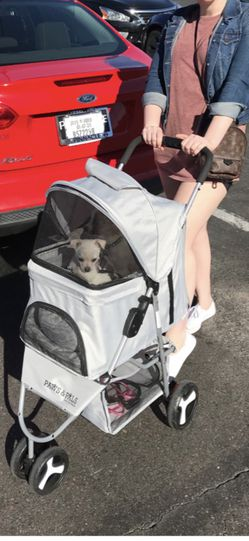 Grey Dog Stroller- OPEN TO OFFERS for Sale in Phoenix,  AZ