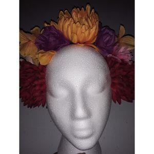 Dia de los muertos flower headpiece for Sale in Industry, CA