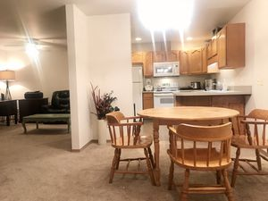 $50 wooden dining table with chairs for Sale in Everett, WA