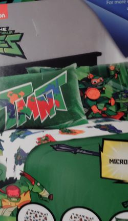 Teenage Mutant Ninja Turtles Full Size 4 Piece Sheet Set for Sale in Dallas,  GA
