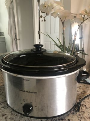 Hamilton Beach Slow Cooker for Sale in Alexandria, VA