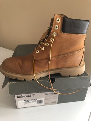 Timberland 6-in basic leather boots mens 11 sz for Sale in Centreville, VA