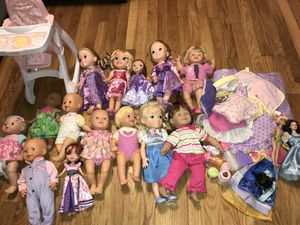 Dolls/Babies & Barbies for Sale in Dallas, TX