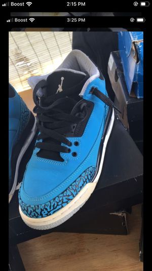 Jordan 3 powder blue for Sale in Los Angeles, CA