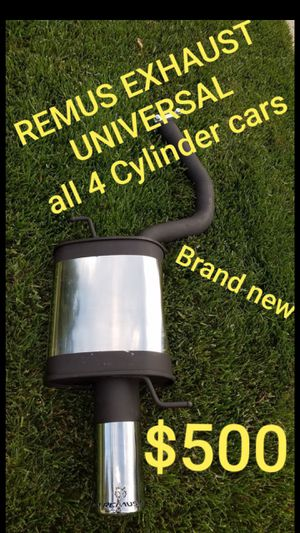 Remus universal exhaust - all 4 cylinders - BRAND NEW for Sale in Los Angeles, CA