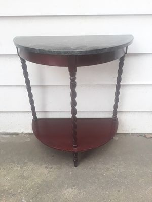 Antique Green Marble half table for Sale in Pittsburgh, PA