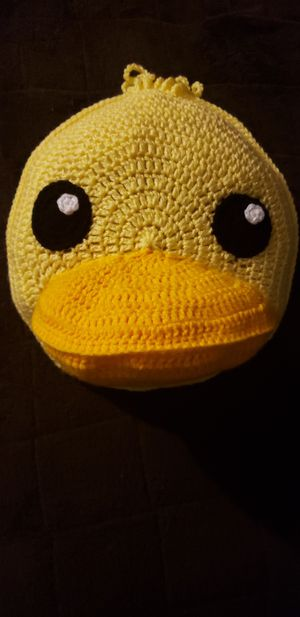 Crochet duck pillow for Sale in Downey, CA