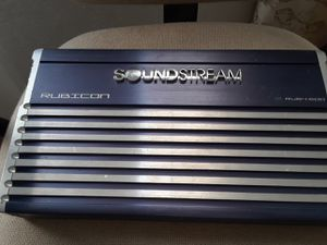 Soundstream amp. Must pick up in Oakcliff. for Sale in Dallas, TX