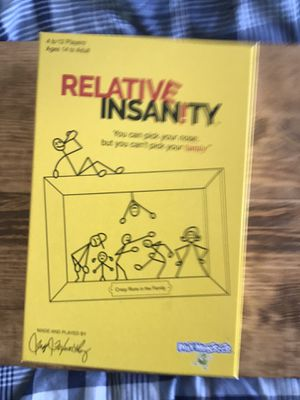 Relative Insanity Board Game for Sale in Washington, DC