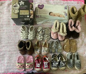 Baby girl shoes lot . for Sale in San Diego, CA