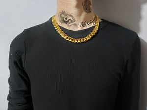 Real 14k Gold Plated Cuban Link Chain for Sale in Dallas, TX