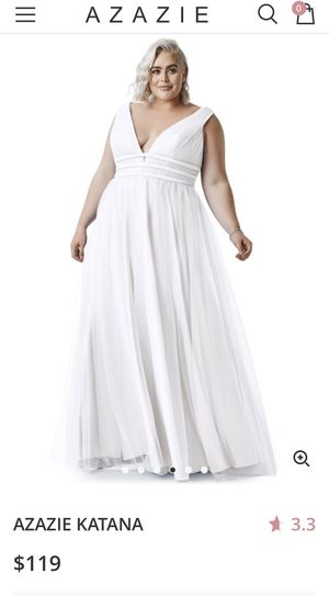 Size 30 wedding dress worn once for an event for Sale in Pittsburg, CA