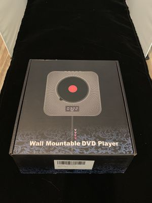 New. Wall mountable DVD CD player for Sale in Redlands, CA