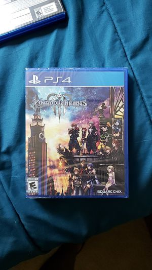 Kingdom Hearts 3 (PS4) for Sale in Rockville, MD