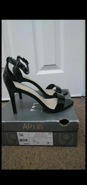 Woman's New black heels size 7 for Sale in Riverside, CA