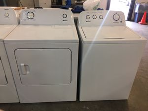 Amana washer and dryer set for Sale in Pompano Beach, FL