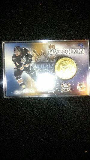 Ovechkin rookie bronze medallion for Sale in Lincolnia, VA