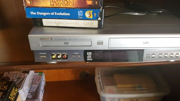 Toshiba dvd and vhs player