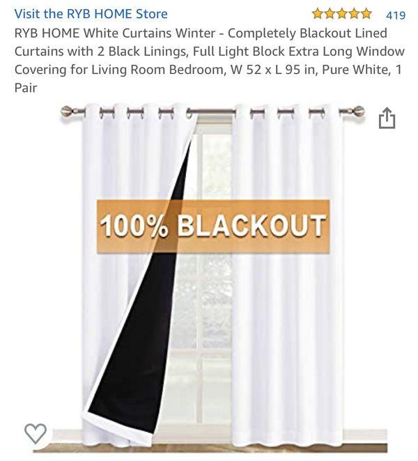 Complete blackout curtains 4