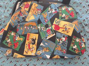 VTG Vintage Disney Mickey Unlimited Colorblock Postage Bag Black Blue Green Yellow for Sale in Birmingham, MI