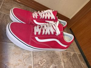 Clemson red vans for Sale in Puyallup, WA