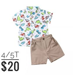 Dinosaur 🦕 2pc Outfit for Sale in Whittier,  CA