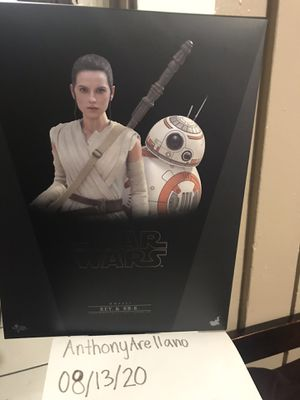 Hot toys Star Wars Rey & BB8 for Sale in Oakland, CA
