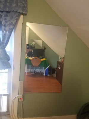 selling two mirrors for 80.00 dollar. only money is accepted. don't check for Sale in Lowell, MA