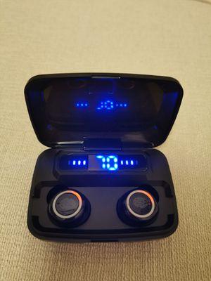 (B6)True Wireless Bluetooth 5.0 Earphones Touch Control Headphones Earbuds Headset for Sale in Brea, CA