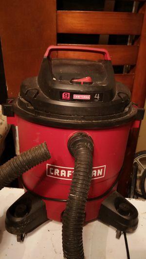 Craftsman wet vac 9 gallon 4 peak horsepower for Sale in Conyers, GA