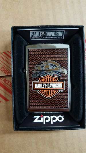 Zippo Harley Davidson eagle high polished chrome 28265 for Sale in Los Angeles, CA