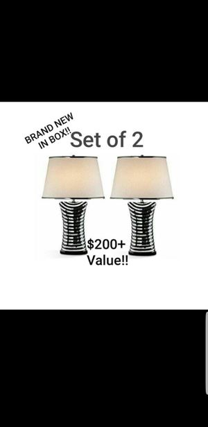 Brand New Set of Ore International Lamps for Sale in Hayward, CA