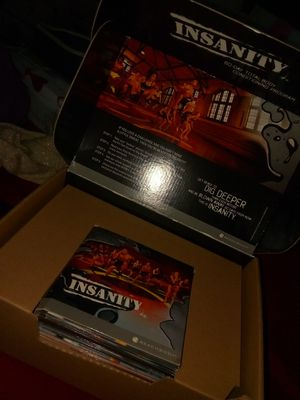 Insanity workout videos for Sale in Riverside, CA