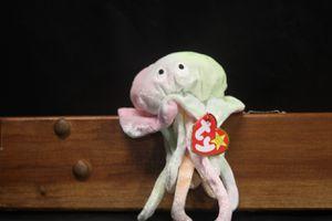 Goochy the jellyfish ty beanie baby tie dye for Sale in Orlando, FL