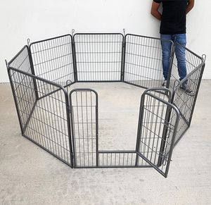 """Brand New $85 Heavy Duty 32"""" Tall x 32"""" Wide x 8-Panel Pet Playpen Dog Crate Kennel Exercise Cage Fence for Sale in South El Monte, CA"""