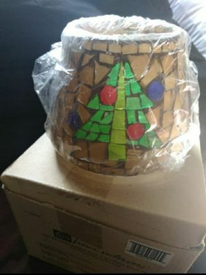 Mosaic Christmas Tree Candle Shade for Sale in Norwalk, CA