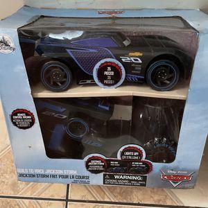 Remote Control Car Disney's Cars Jackson Storm for Sale in Garden Grove, CA