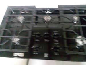 36 inch 5 burner gas stove built-in top for Sale in Lakeland, FL
