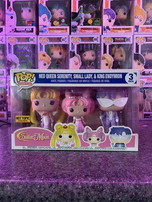 Sailor moon Funko pop 3 pack. for Sale in Phoenix, AZ