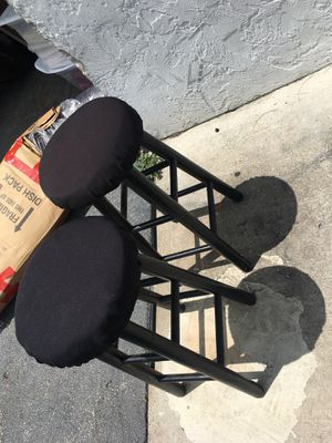 Black bar stools for Sale in Fort Lauderdale, FL