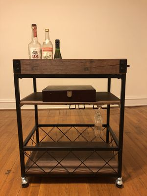Rolling Bar Cart for Sale in Richmond, VA
