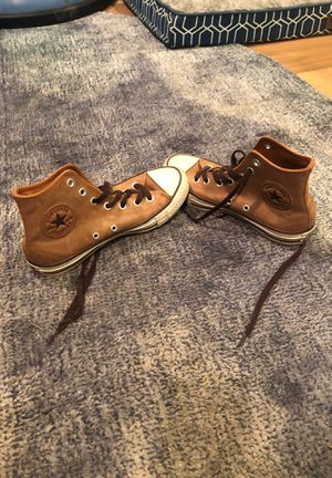 Converse- brown leather size women's 6.5 for Sale in Denver, CO